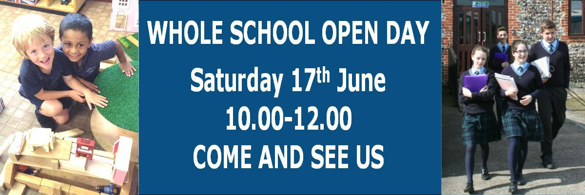 JUNE17Whole schoolOpenDay